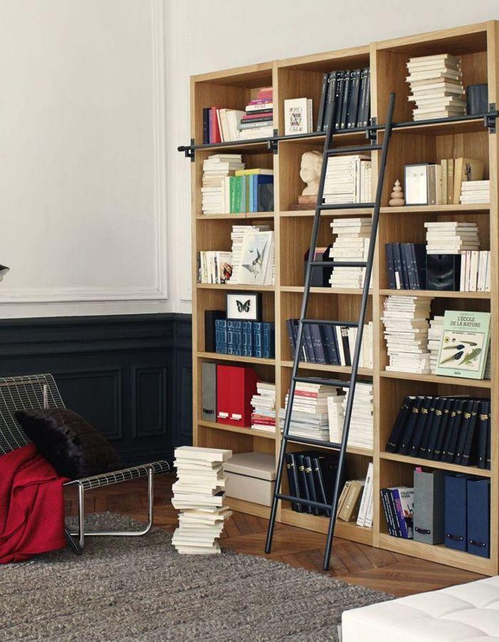 Biblioth ques belles et pratiques notre s lection pour la rentr e elle d - Meuble bibliotheque habitat ...
