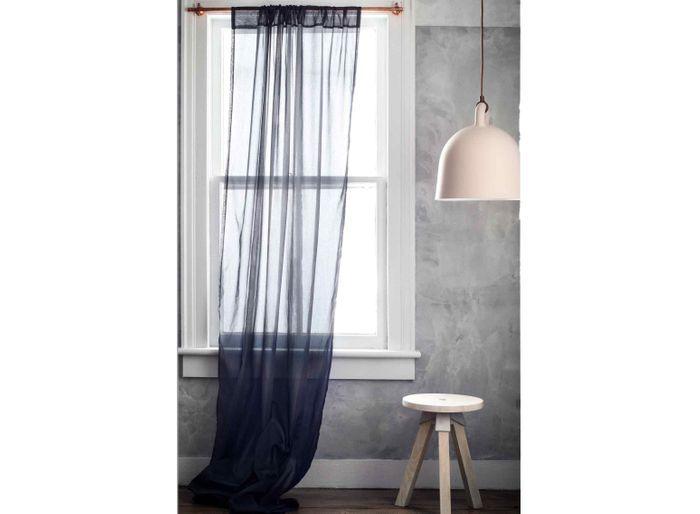 Des rideaux transparents