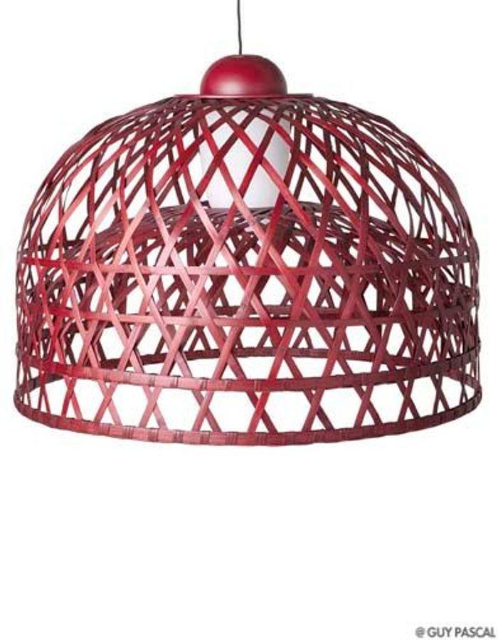 Les luminaires ont la fibre naturelle elle d coration - Le bon marche luminaires ...
