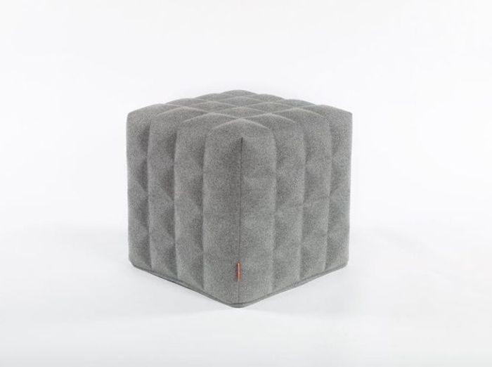 Un pouf 3D