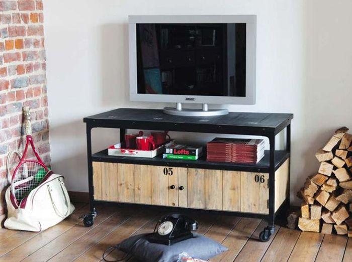 Un beau meuble t l pour mon salon elle d coration for Quel deco pour mon salon