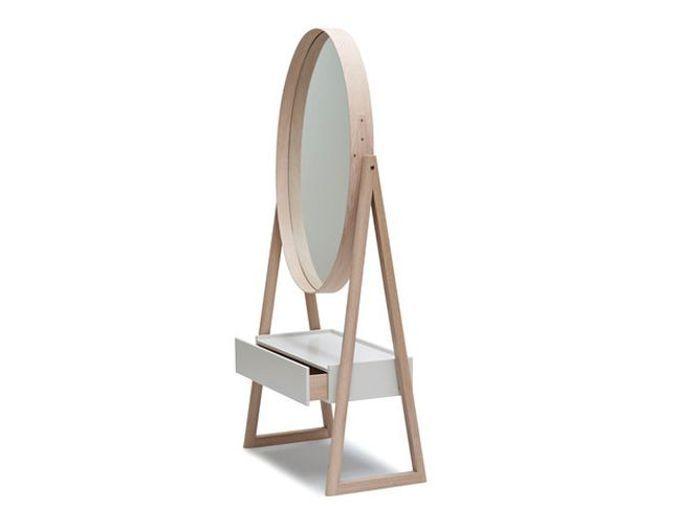 Shopping pratiques les miroirs multifonctions elle for Miroir chevalet