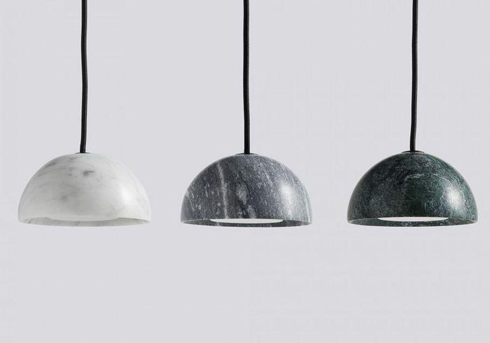 Suspension design en marbre