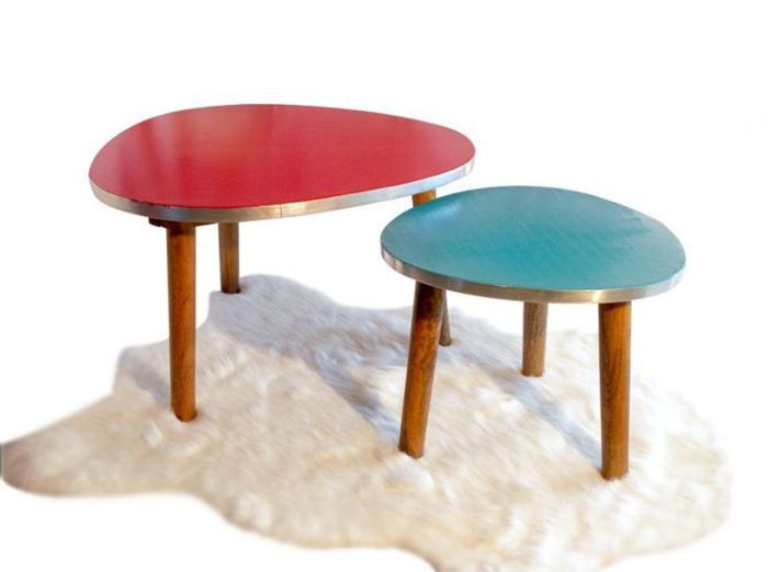 Objet deco vintage pas cher - Table up and down pas cher ...
