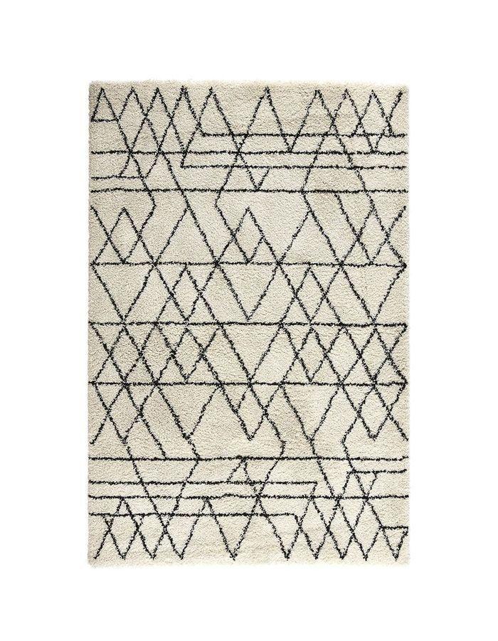 Tapis pas cher à motifs géométriques