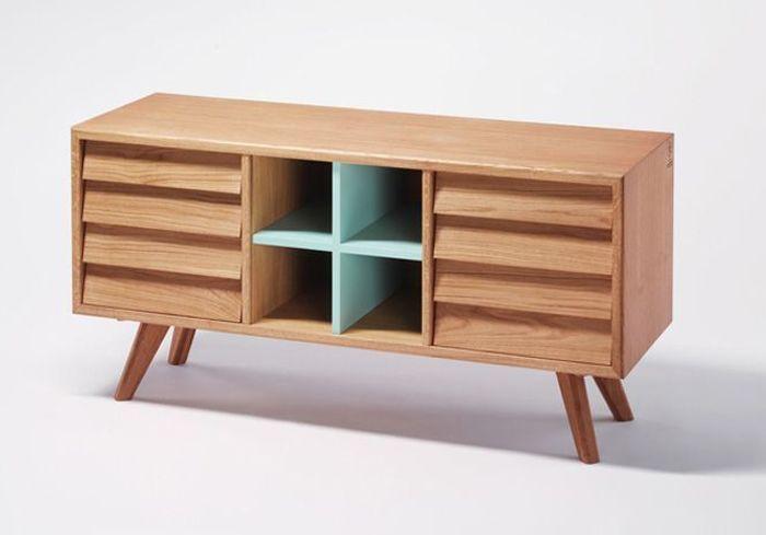 tendances 15 buffets l esprit fifties elle d coration. Black Bedroom Furniture Sets. Home Design Ideas