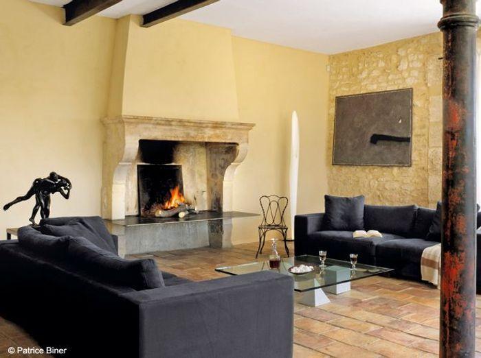 nos 50 plus belles chemines - Deco Salon Moderne Avec Cheminee