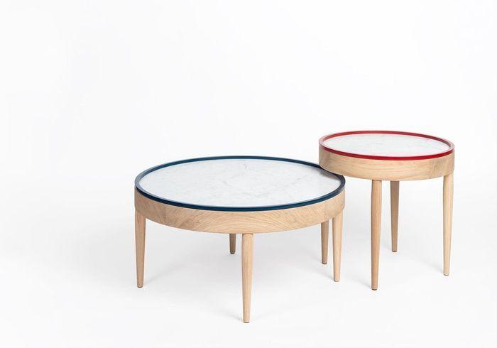 Table basse en marbre Drugeot Labo