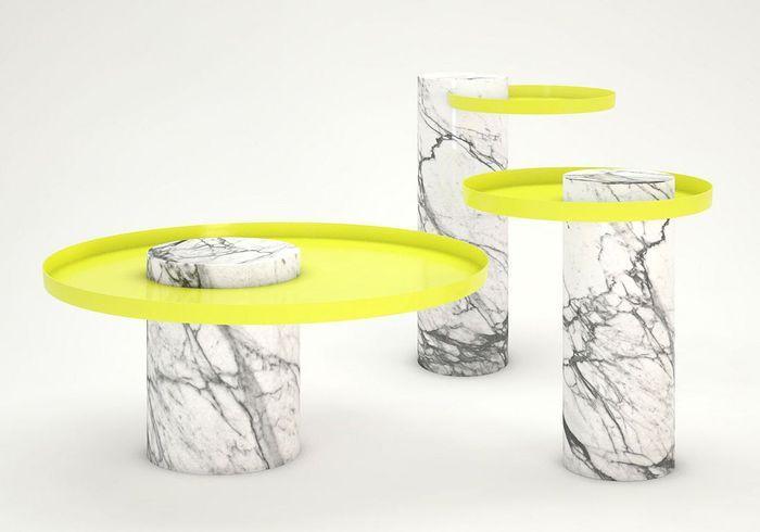 Table basse en marbre La Chance