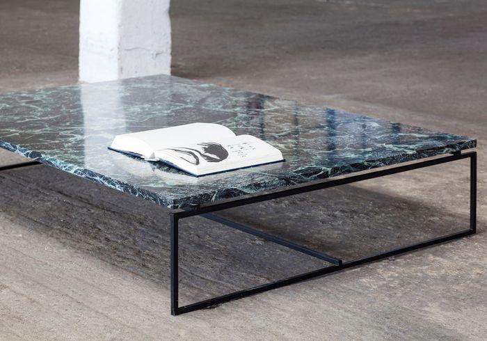 La table basse en marbre un classique chic qu on adopte au salon elle d coration - Table basse en cagette ...