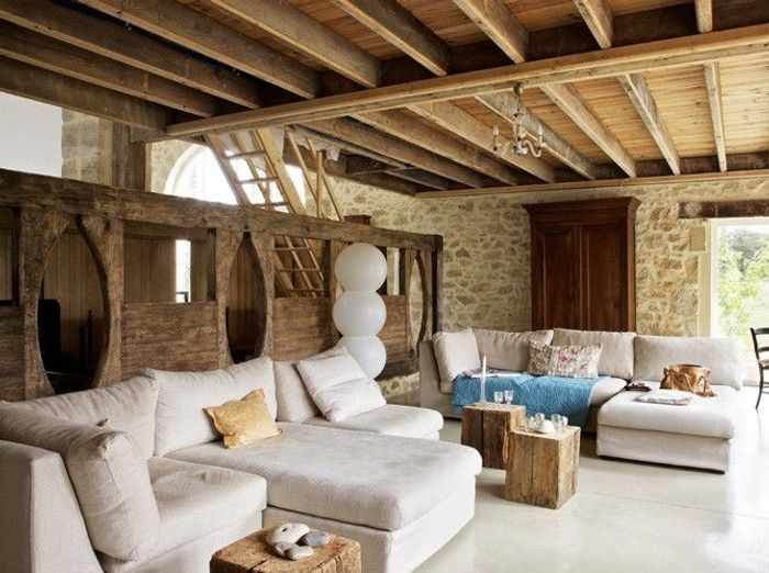 Un salon cosy elle d coration - Salon cosy chaleureux ...