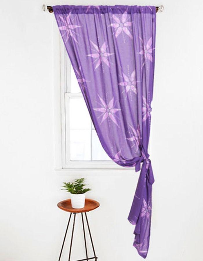Des id es de rideaux pour faire r ver vos fen tres elle - Idee deco rideau ...