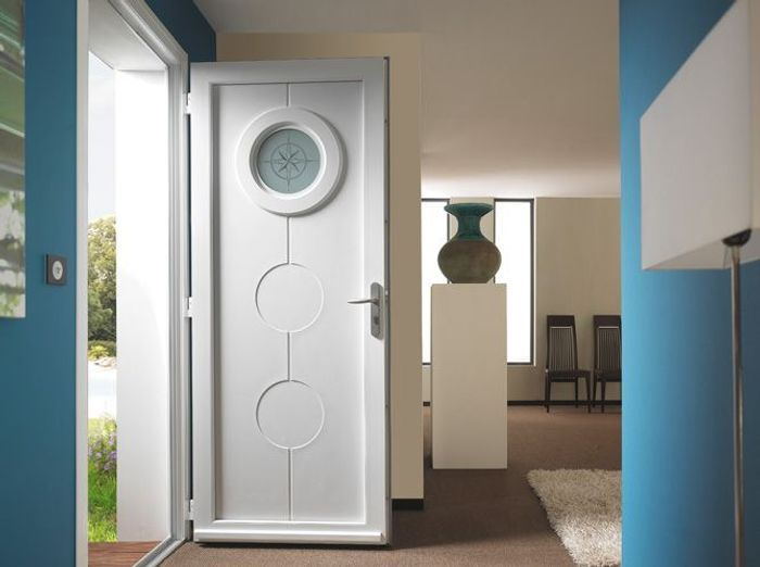 Porte d 39 entr e elle d coration for Porte interieure originale