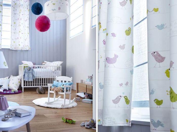 Inspiration shopping nos coups de c ur rideaux et for Rideaux pour chambre d enfant