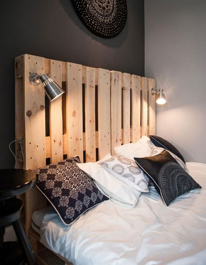decoration tete de lit lumineuse. Black Bedroom Furniture Sets. Home Design Ideas