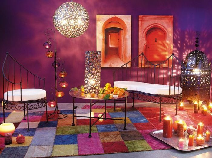 Le style marocain s impose en d co elle d coration - Decoration salon moderne tunisie ...