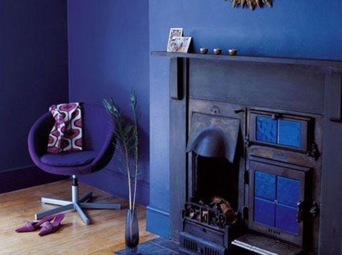 Salon violet astral