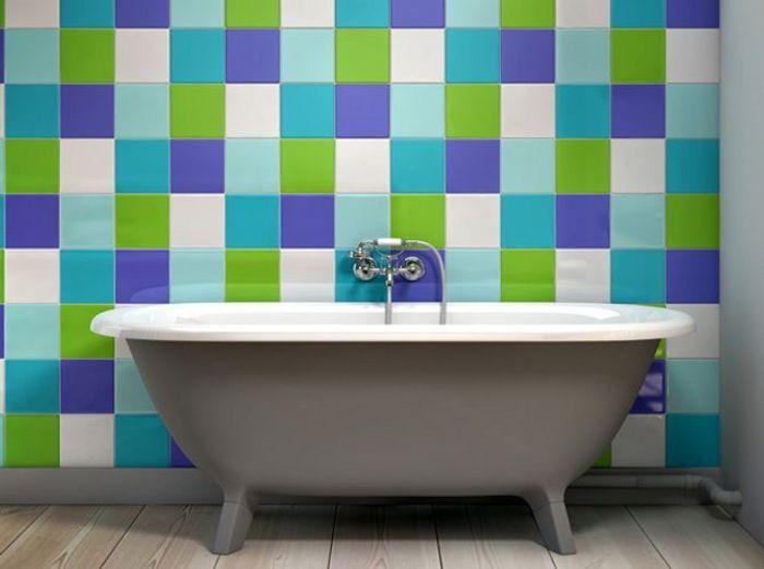 La salle de bains pop