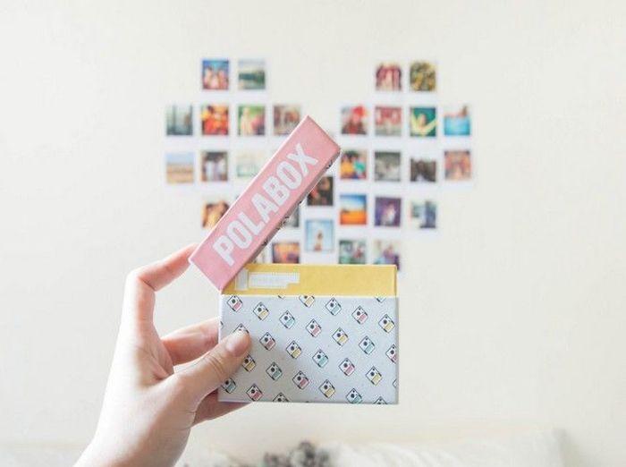 Imprimez vos photos au format polaroïd