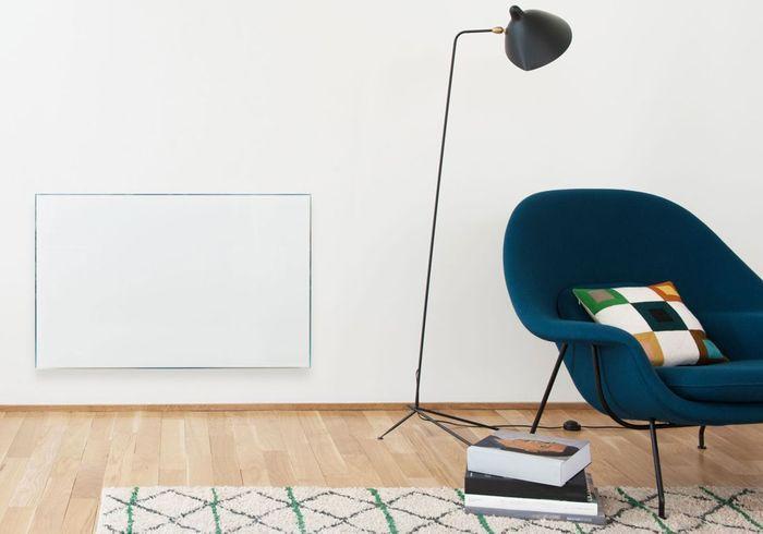 Un radiateur design façon miroir