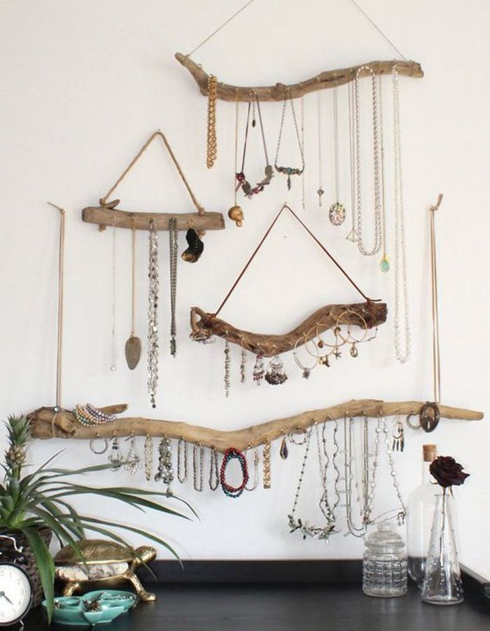 Diy d co galets bois flott coquillages direction la for Deco branche bois flotte