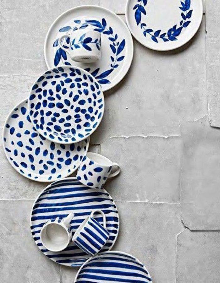 18 id es de cadeaux faire soi m me pour la f te des for Cute pottery designs