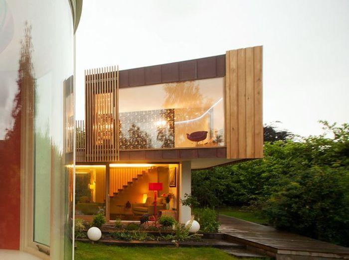 Extension cuivre maison design