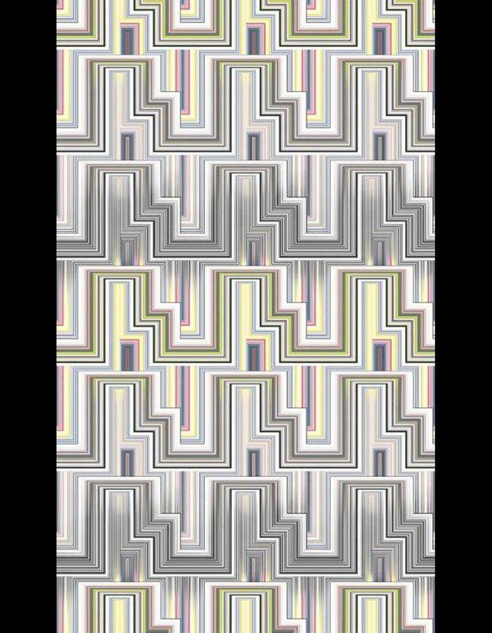 Papier peint Multi Stripe wp sm, Christian Lacroix, Designer's Guild