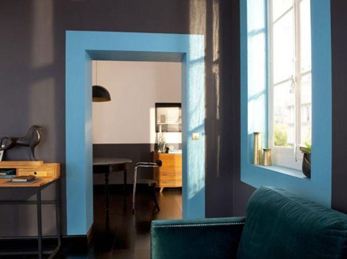Un int rieur original gr ce la couleur elle d coration - Choisir la couleur de ses murs ...