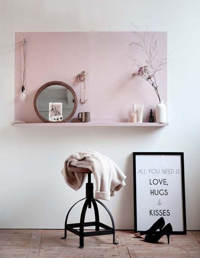 Peinture murale 20 inspirations pour un int rieur trendy elle d coration - Idee deco wallpaper volwassene kamer ...