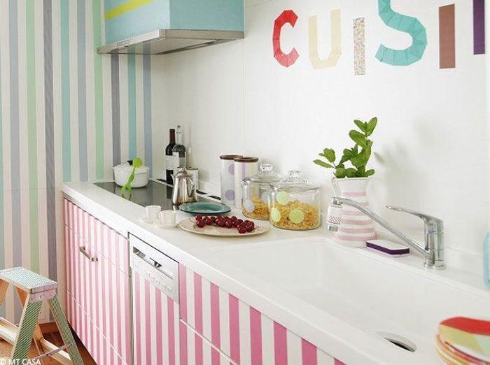 murs 40 id es pour leur donner du peps elle d coration. Black Bedroom Furniture Sets. Home Design Ideas