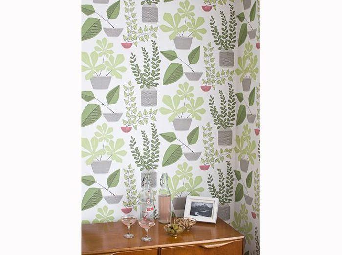 papier peint les nouveaux mod les color s elle d coration. Black Bedroom Furniture Sets. Home Design Ideas