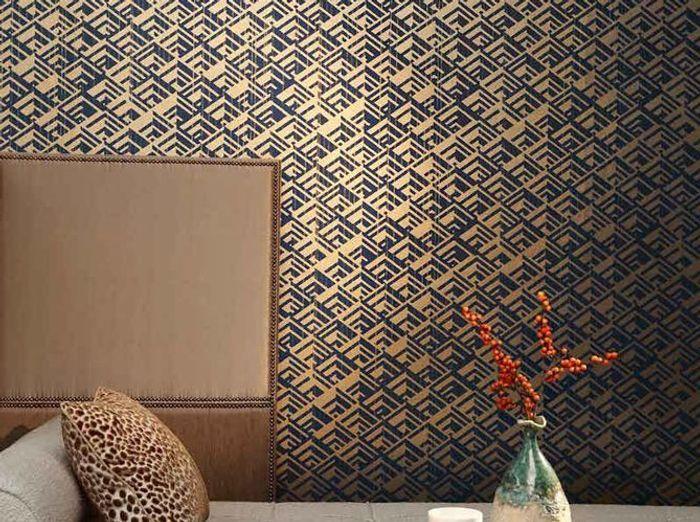 un papier peint vintage pour une touche r tro chic elle d coration. Black Bedroom Furniture Sets. Home Design Ideas