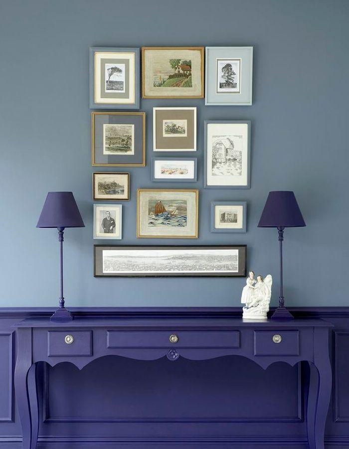 peindre toilettes deux couleurs. Black Bedroom Furniture Sets. Home Design Ideas