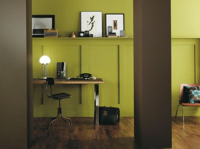 quelles couleurs associer avec le vert elle d coration. Black Bedroom Furniture Sets. Home Design Ideas