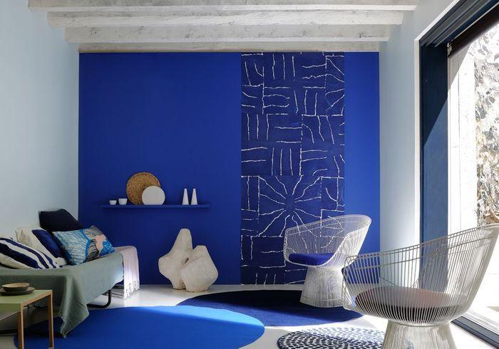 peinture 15 id es pour personnaliser son int rieur elle d coration. Black Bedroom Furniture Sets. Home Design Ideas