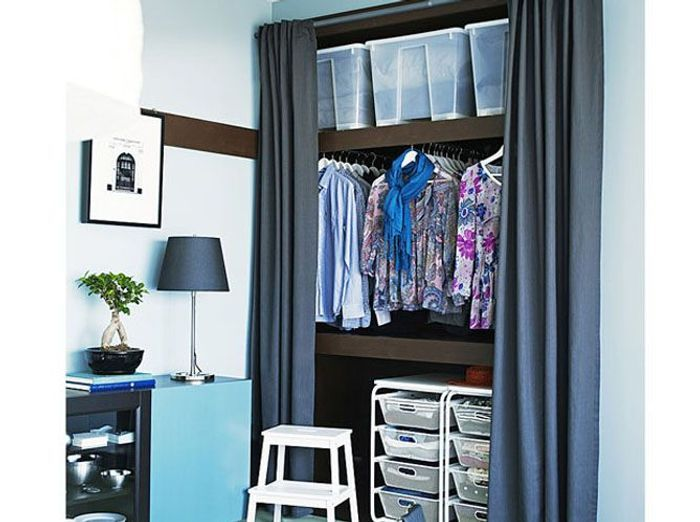 nos meilleures astuces pour bien organiser son placard elle d coration. Black Bedroom Furniture Sets. Home Design Ideas