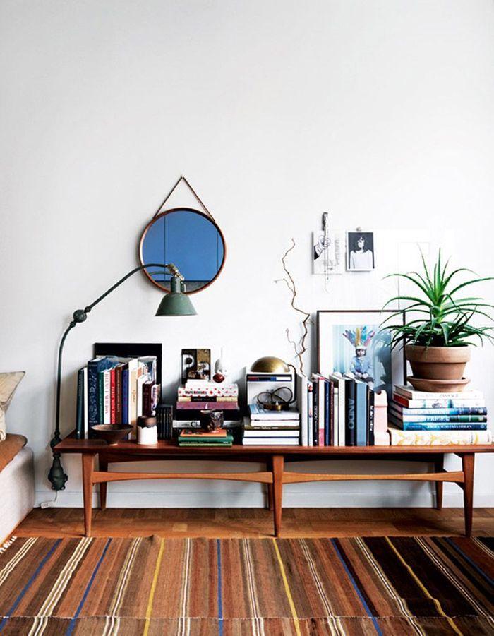 nos id es pour une petite biblioth que pratique et d co elle d coration. Black Bedroom Furniture Sets. Home Design Ideas