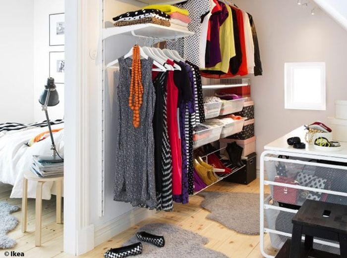 Am nager son dressing faites le plein d id es elle d coration - Idee amenagement dressing ...