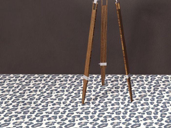 Carrelage léopard