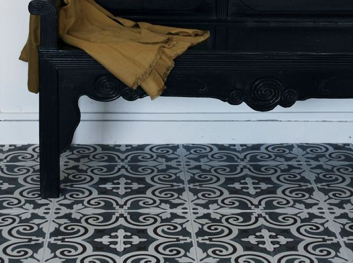 Carrelage style carreaux de ciment