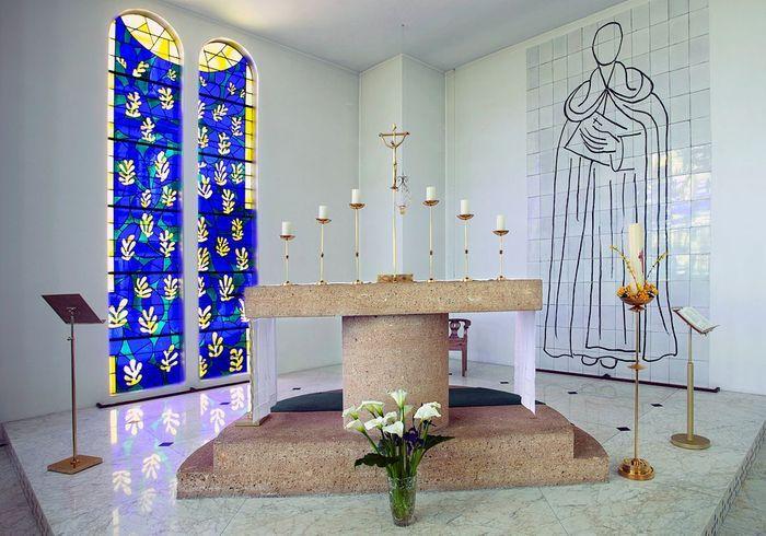 La chapelle Matisse, chef-d'oeuvre radieux
