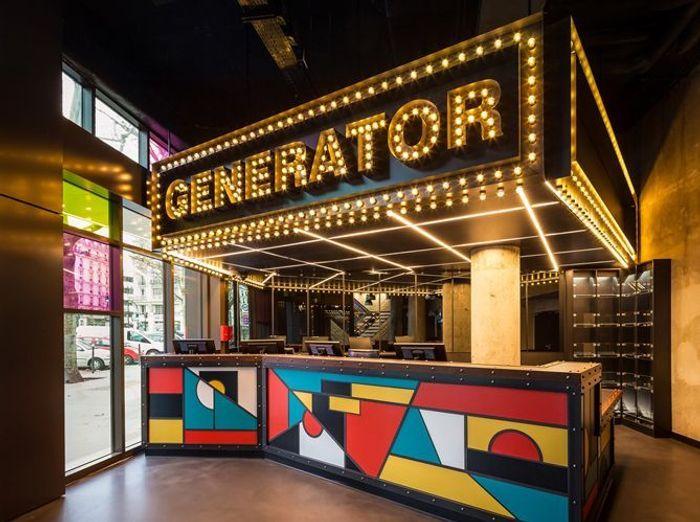 L'hôtel Generator à Paris