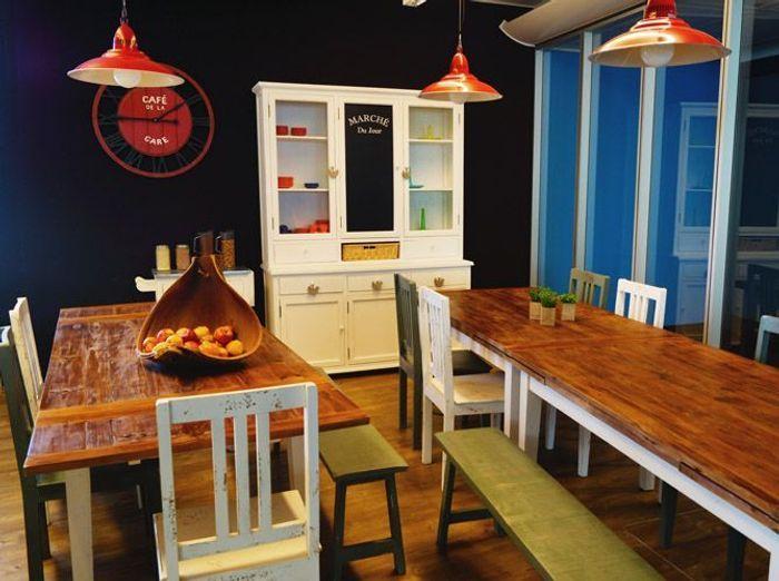Une salle à manger comme à la maison