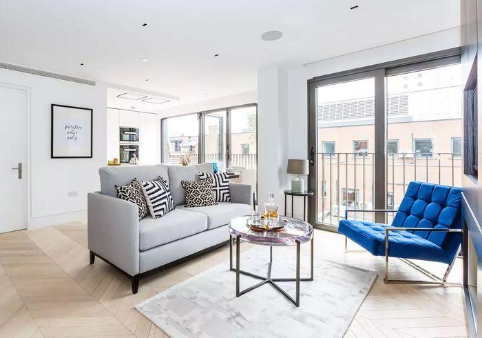 Appartement blanc à Londres