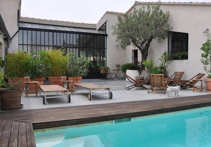 Maison de type loft avec piscine à Avignon
