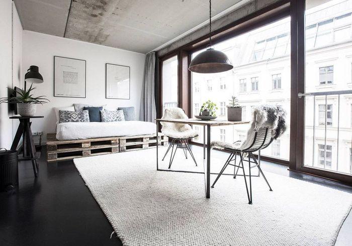 Studio contemporain à Berlin