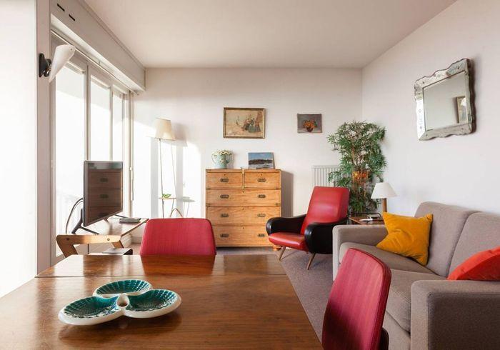 Appartement à l'ambiance vintage à Deauville