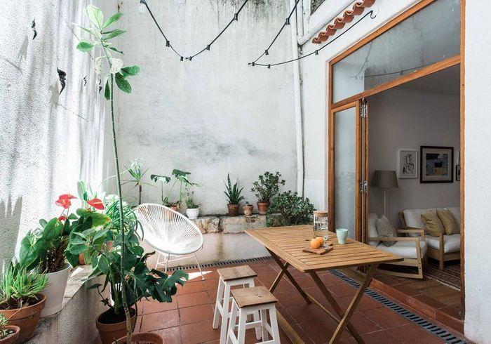 Appartement avec terrasse végétalisée à Lisbonne