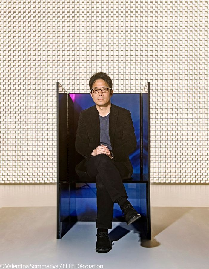 "Tokujin Yoshioka - Installation ""S.F - Senses of the Future"" pour LG"